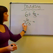 Dividing Whole Numbers by Fractions