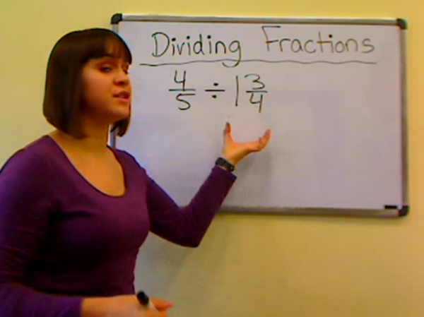 Dividing Fractions by Mixed Numbers