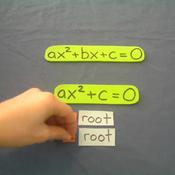 Quadratics with no Bx Term