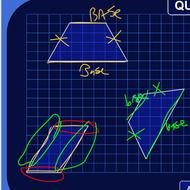 Bases of a Parallelogram or Trapezoid