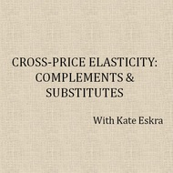 Cross-Price Elasticity / Complements & Substitutes