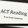ACT Reading: Prose Fiction Section