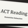 ACT Reading: Humanities Subsection