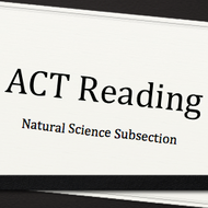 ACT Reading: Natural Science Subsection