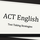 Test Taking Strategies for the ACT English Test