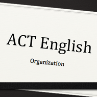 Organization on the ACT English Test