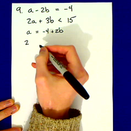 Practice Simultaneous Equations and Inequalities