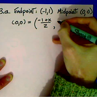 Practice Finding the Midpoint