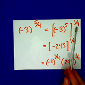 Taking Even Roots of Negative Numbers