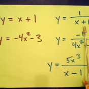 The Graph of a Rational Equation