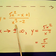 Horizontal Asymptotes in Rational Equations