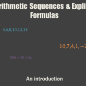 Arithmetic Sequences & Explicit Formulas