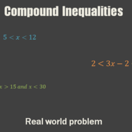 Applications of Compound Inequalities