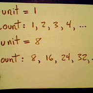 Counting Increments