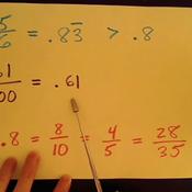 Expressing Decimal Probability
