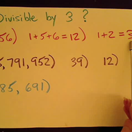 Determining Divisibility by 3