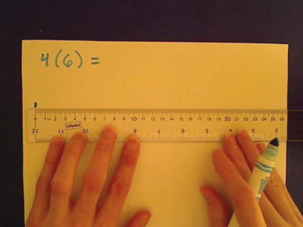 Multiplying on the Number Line