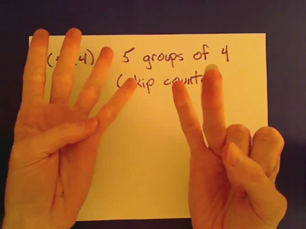 Multiplying with Skip Counting
