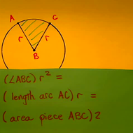The Area of a Circular Sector