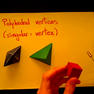 Polyhedral Vertices