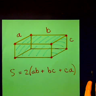Surface Area of a Rectangular Box