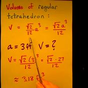 Volume of a Tetrahedron