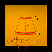 Volume of a Conical Frustum