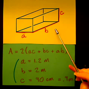 Solving for the Surface Area of a Rectangular Box