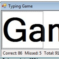 Sample Program: Typing Game Part 1