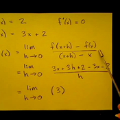 Factoring to Find a Derivative