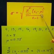 Determining Standard Deviation
