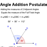 1-3 Angle Addition (due 9/10)