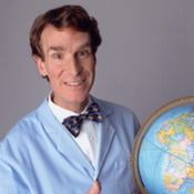 Bill Nye Demonstration:   Spinning Platform