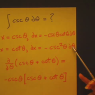 Integral of Cosecant