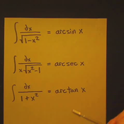 Integral of Inverse Trigonometric Functions