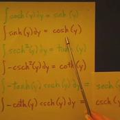Hyperbolic Trigonometric Integrals