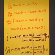 Taking the Integral of Secant