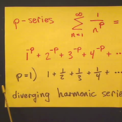 Limits of P-series