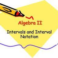 1.10 Intro to Interval Notation (due by midnight on Sun. 9/15)