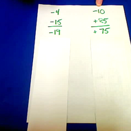 Rational Numbers Beyond -10 to 10