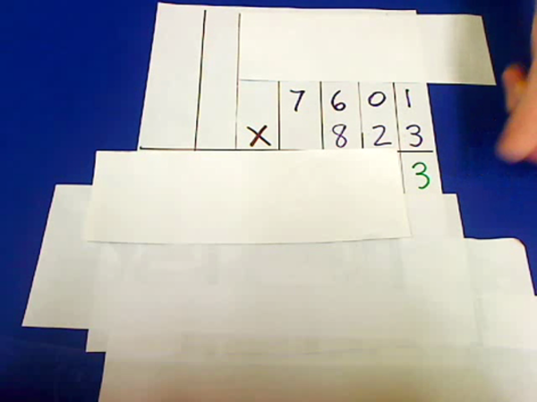 Multiplying Three and Four Digit Numbers