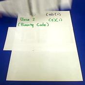 Calculating Binary Code 0-3