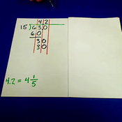Dividing Two Digit Numbers by Two or Three Digit Numbers