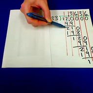Dividing Two Digit Numbers by Two or Three Digit Numbers Repeating