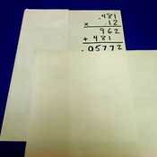 Multiplying Hundredths by Thousandths