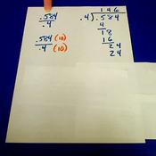Dividing Thousandths by Tenths