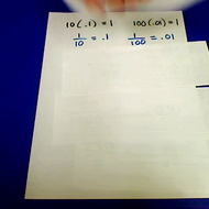 Dividing Decimals by 10 or 100