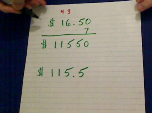 Decimal Multiplication in Word Problems