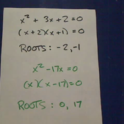 Quadratic Roots