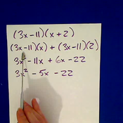 Multiplying Quadratic Factors